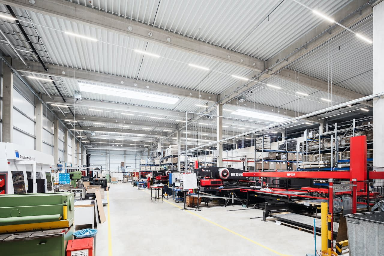 Produktionshalle in Dresden
