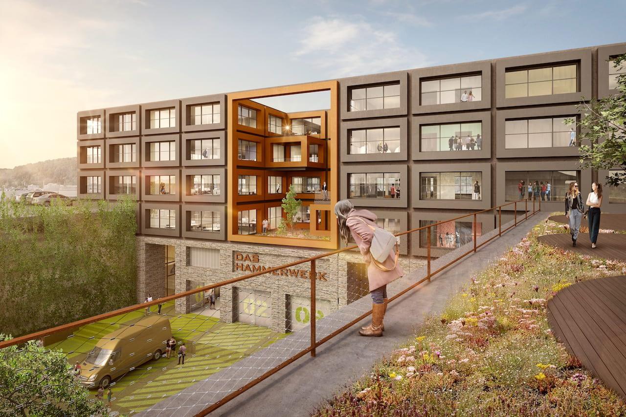 Entwurf des Hammerwerk Stuttgart